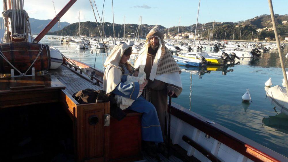 il Natale a bordo de LaZigoela